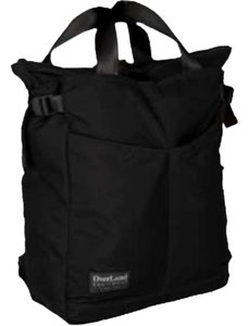 Overland Equipment Tote in Black