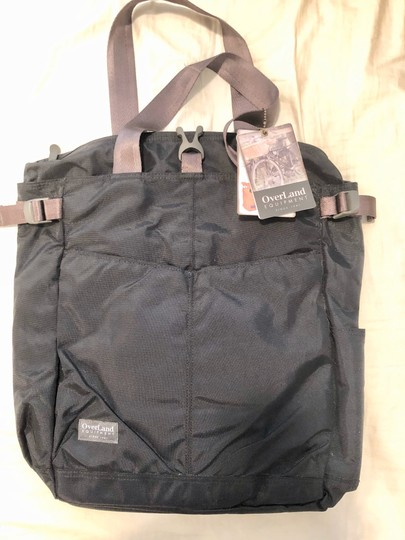 Overland Equipment Tote in Black Image 1
