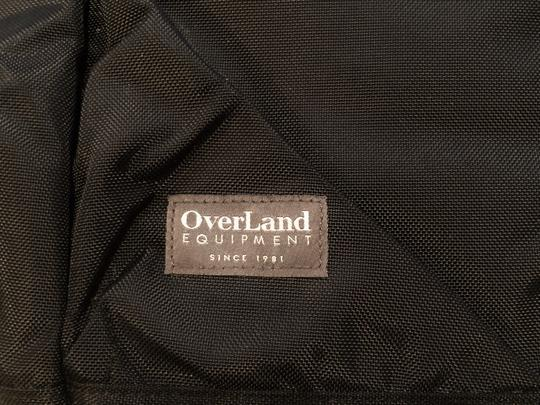 Overland Equipment Tote in Black Image 3