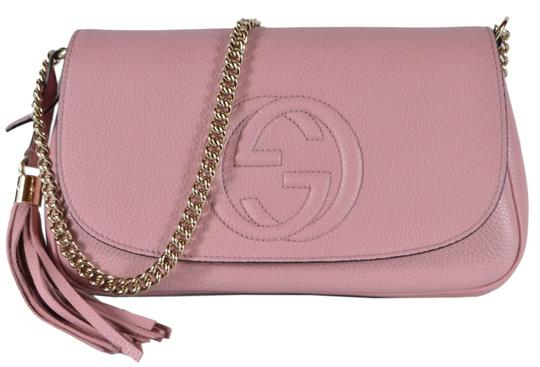 Preload https://img-static.tradesy.com/item/26455206/gucci-soho-new-tassel-purse-pink-leather-cross-body-bag-0-0-540-540.jpg