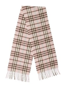 Burberry London House Check Cashmere Scarf