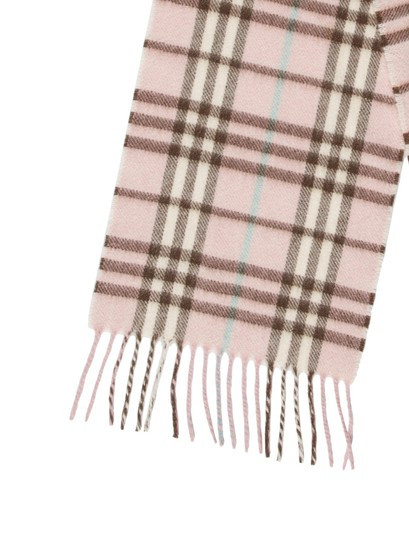 Burberry London House Check Cashmere Scarf Image 1