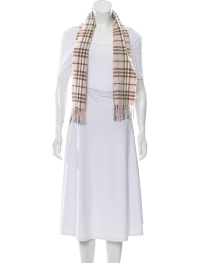 Burberry London House Check Cashmere Scarf Image 2