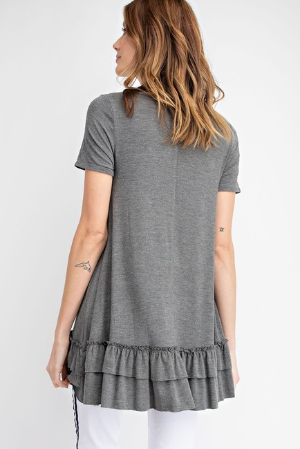 Easel T Shirt Heather grey Image 1
