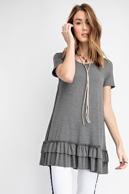 Easel T Shirt Heather grey Image 2