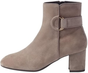 L.K. Bennett Party Date Night Night Out Hollywood Holiday Grey Boots