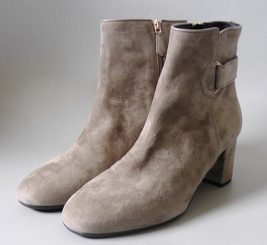 L.K. Bennett Party Date Night Night Out Hollywood Holiday Grey Boots Image 2