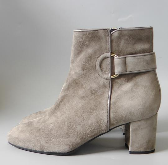 L.K. Bennett Party Date Night Night Out Hollywood Holiday Grey Boots Image 3