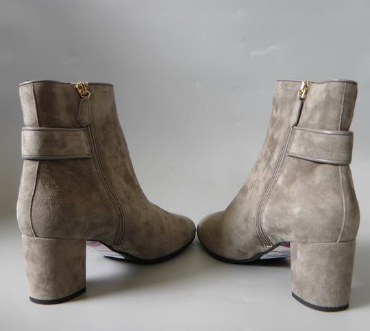 L.K. Bennett Party Date Night Night Out Hollywood Holiday Grey Boots Image 5