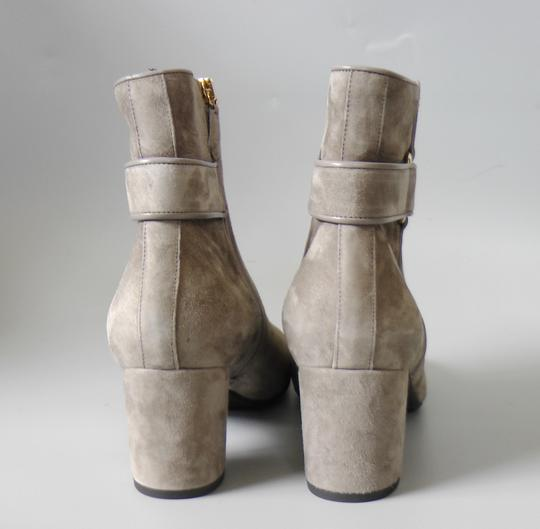 L.K. Bennett Party Date Night Night Out Hollywood Holiday Grey Boots Image 7