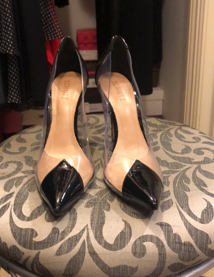 SCHUTZ black and clear Pumps Image 1