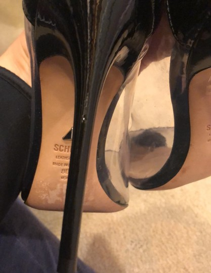 SCHUTZ black and clear Pumps Image 7