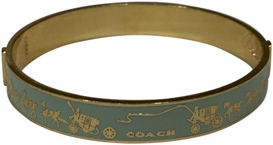 Preload https://img-static.tradesy.com/item/26455294/coach-pale-turquoise-with-horse-and-carriage-motif-bracelet-0-1-540-540.jpg