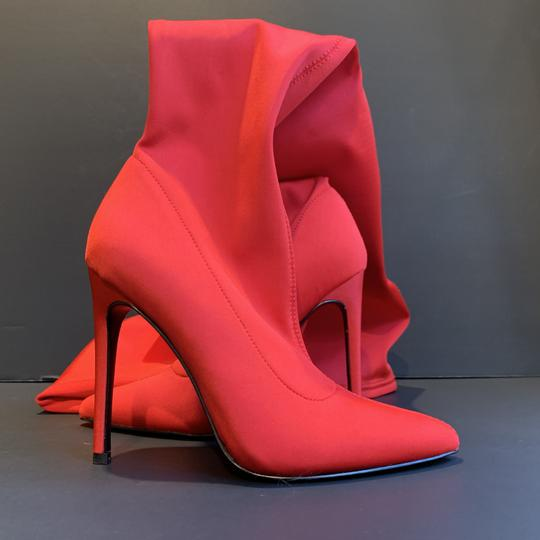 Steve Madden High Stretch Sexy Red Boots Image 4