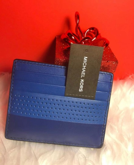 Michael Kors Sale Cheap Discount Wristlet in ATLANTIC BLUE Image 2