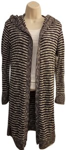 Say What Macy's Striped Knit Cardigan