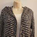 Say What Macy's Striped Knit Cardigan Image 1