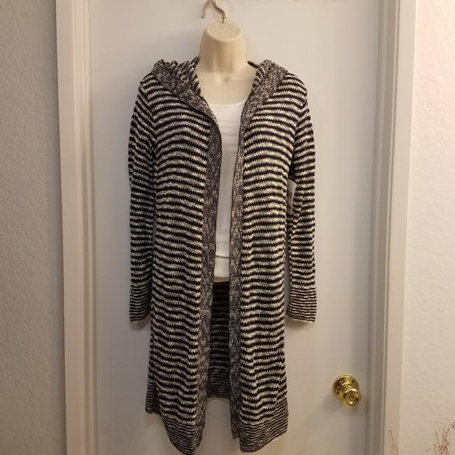 Say What Macy's Striped Knit Cardigan Image 4