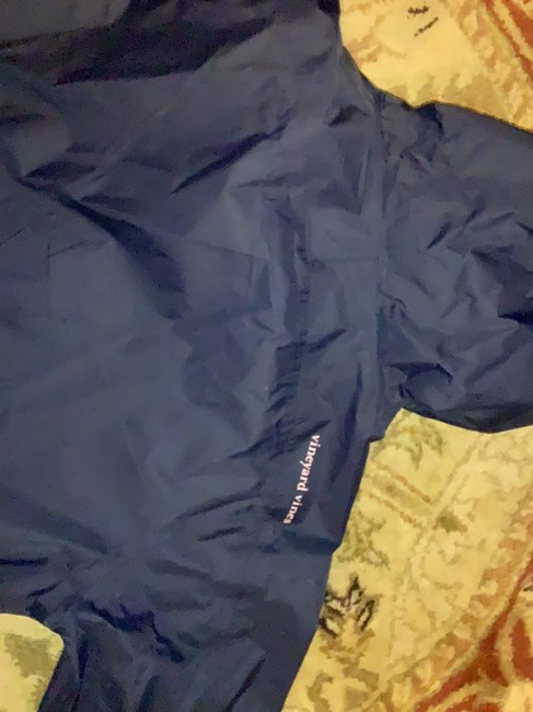 Vineyard Vines navy with pink detail on pocket and zipper Jacket Image 2