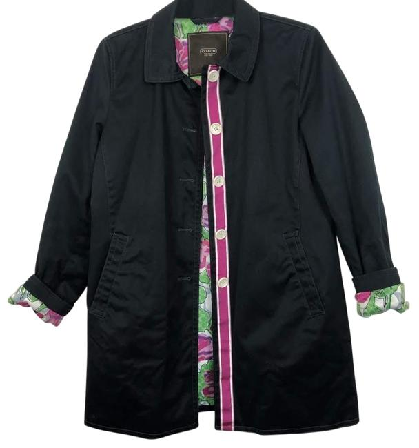 Preload https://img-static.tradesy.com/item/26455388/coach-black-rain-coat-with-contrasting-floral-lining-jacket-size-14-l-0-1-650-650.jpg