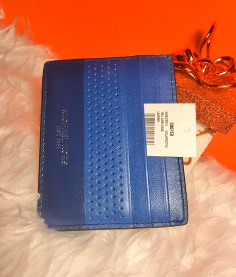 Michael Kors Sale Cheap Discount Wristlet in ATLANTIC BLUE Image 3