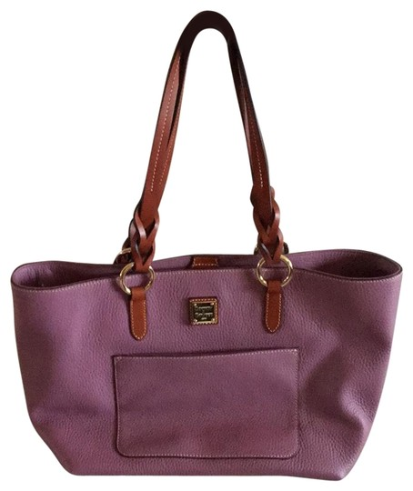Preload https://img-static.tradesy.com/item/26455461/dooney-and-bourke-grain-tammy-mauve-pebbled-leather-tote-0-1-540-540.jpg