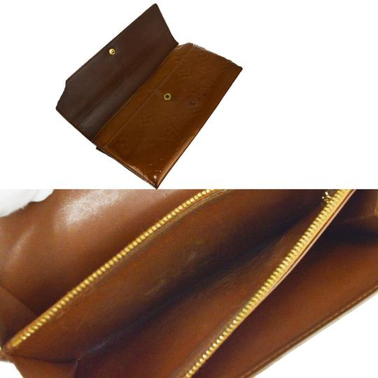 Louis Vuitton Authentic LOUIS VUITTON 4 Set Wallet Key Case Monogram Taiga Vernis Image 10