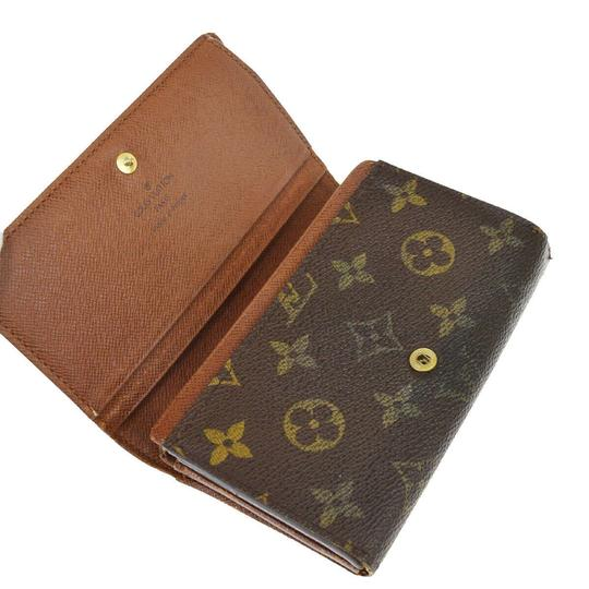 Louis Vuitton Authentic LOUIS VUITTON 4 Set Wallet Key Case Monogram Taiga Vernis Image 5