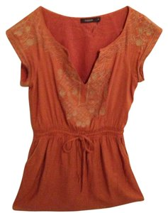 Theme short dress orange (short) on Tradesy