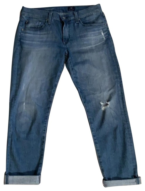 Item - Light Wash The Nolan Ankle Relaxed Fit Jeans Size 8 (M, 29, 30)