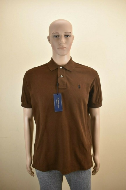 Item - Brown Cotton Pony Sleeve Buttons Shirt