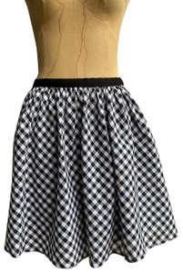 Willow & Clay Gingham Plaid Flare Free People Madewell Mini Skirt skirt