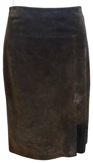 Item - Brown Suede Skirt Size 12 (L, 32, 33)
