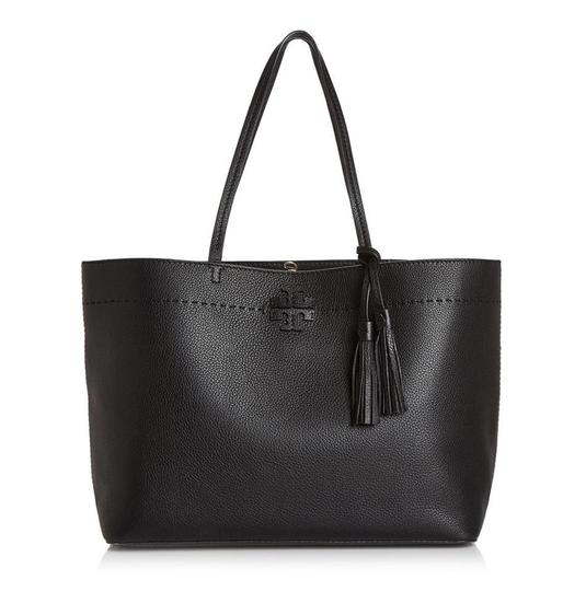 Tory Burch Fleming Tote in black Image 3