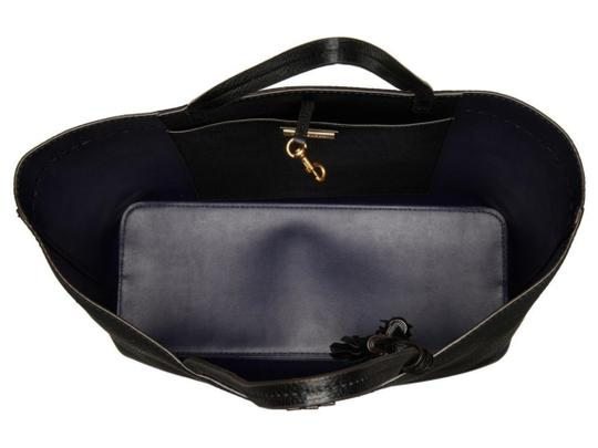 Tory Burch Fleming Tote in black Image 5