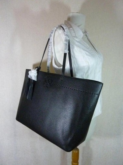 Tory Burch Fleming Tote in black Image 9