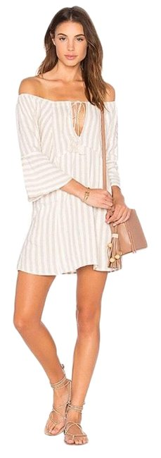 Item - Tan Folk Town Short Casual Dress Size 2 (XS)