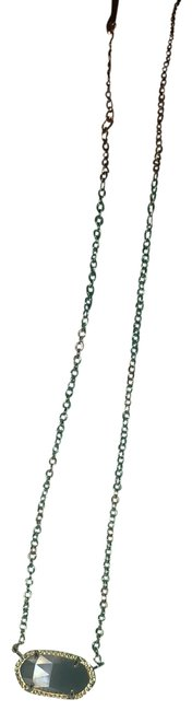 Item - Gold Chain with Cats Eye Stone Necklace
