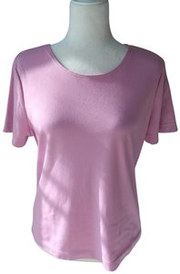 Weekenders Vintage Shell Knit T Shirt Pink