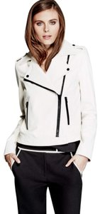 Marciano White Leather Jacket