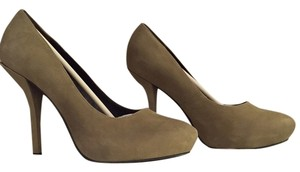 Elizabeth and James Sold-out No Longer Available Taupe Nubuck Suede Pumps