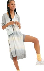 Free People Linen Blend Tie Dye Oversized Comfy Breathable Tunic