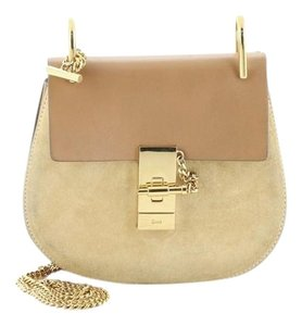 Chloé Suede And Leather Cross Body Bag