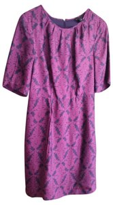 Ann Taylor short dress Purple Fuschia on Tradesy