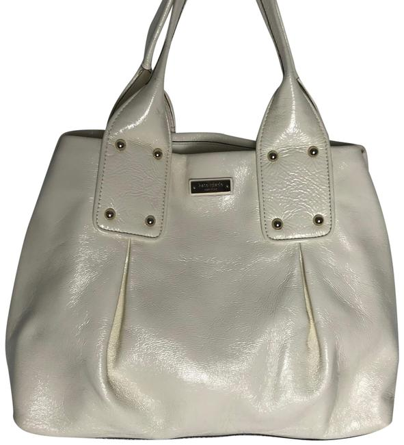 Item - Shoulder Off White Patent Leather Hobo Bag