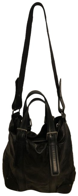 Chloé Quilted Convertible Black Leather Tote Chloé Quilted Convertible Black Leather Tote Image 1