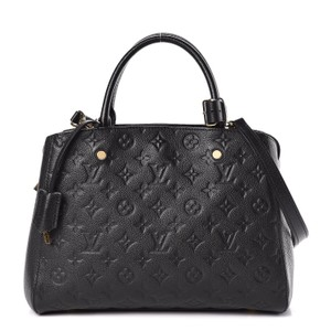 Louis Vuitton Comes With Lv Box Tote in Noir black