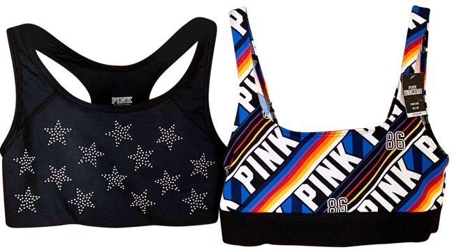 Item - Multicolor Ultimate Pink Lot Of 2 New Activewear Sports Bra Size 0 (XS)