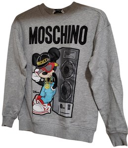 MOSCHINO [tv] H&M Full Set of Mickey Mouse Sweatsuit