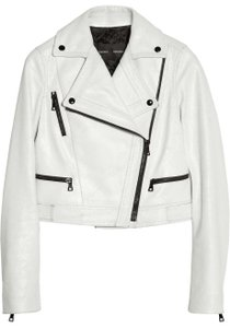 Proenza Schouler White Leather Jacket